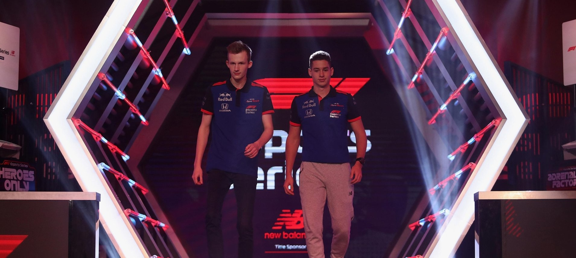 Triple Podium for Toro Rosso Esports Team 1