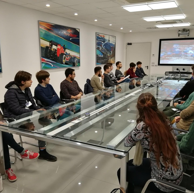Studenti Muner – Factory tour 2