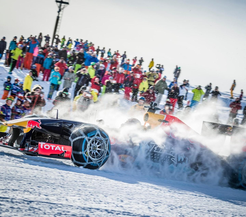 RBR Show Run in Austria: Max & RB7 1