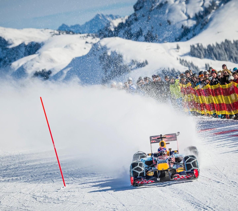 RBR Show Run in Austria: Max & RB7 6