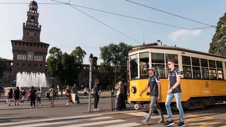 A TRAM RIDE IN MILAN 3