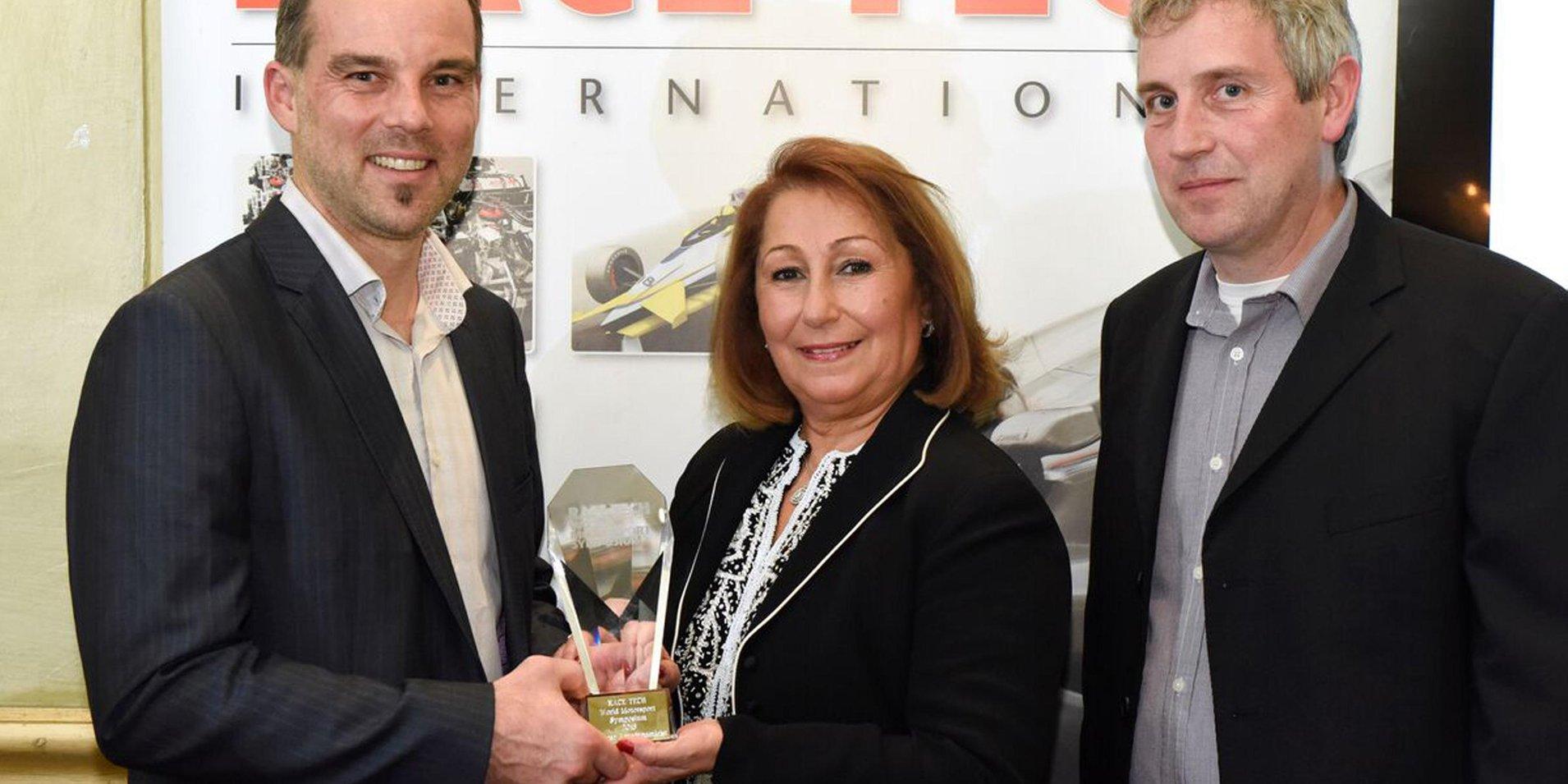 STR10 wins prestigious award