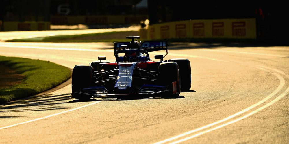 Qualifiche F1 Australia con Daniil Kvyat