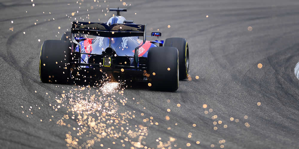 Chinese Grand Prix free practice 2019 with Daniil Kvyat Scuderia Toro Rosso