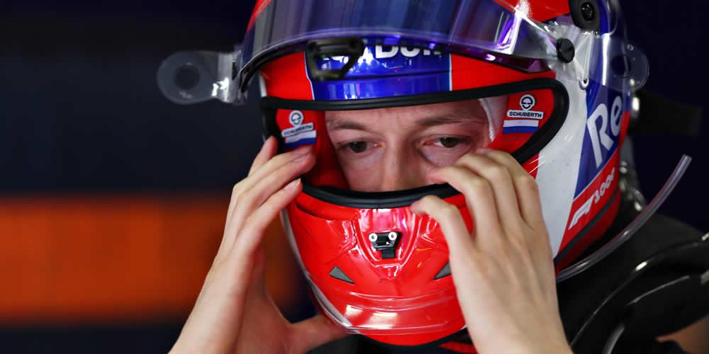 GP Cina 2019 con Daniil Kvyat Scuderia Toro Rosso