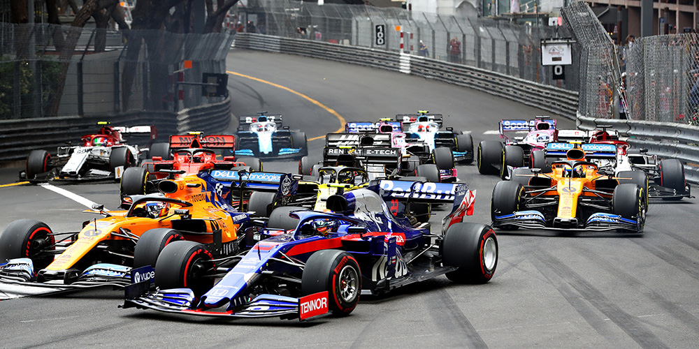 Monaco GP 2019 with Daniil Kvyat Scuderia Toro Rosso
