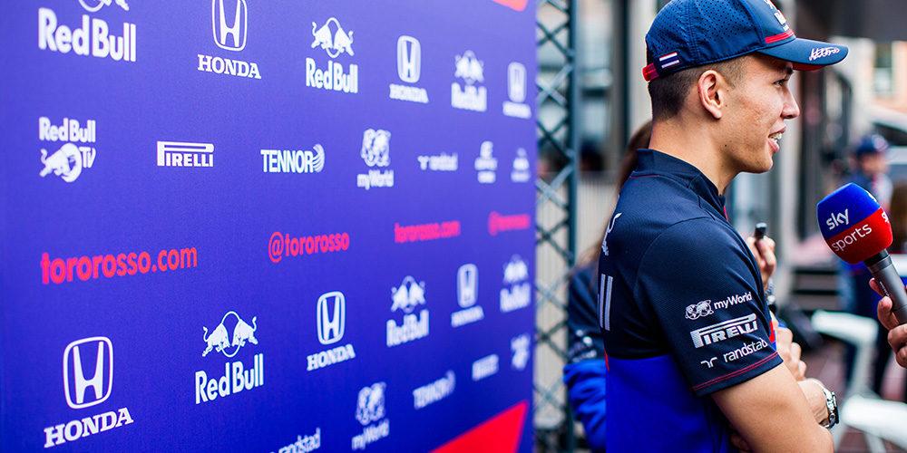 Monaco Grand Prix qualifying 2019 with Alex Albon