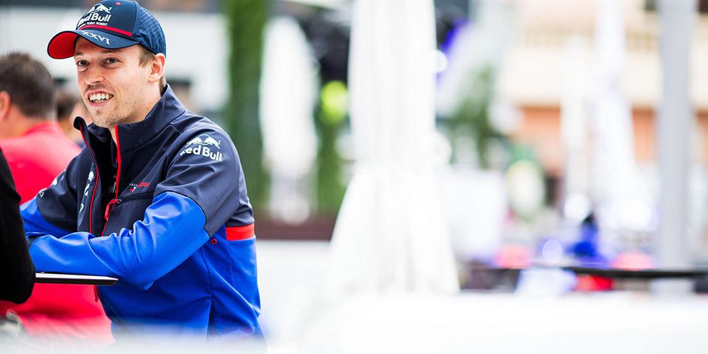 Qualifiche GP Montecarlo 2019 con Daniil Kvyat