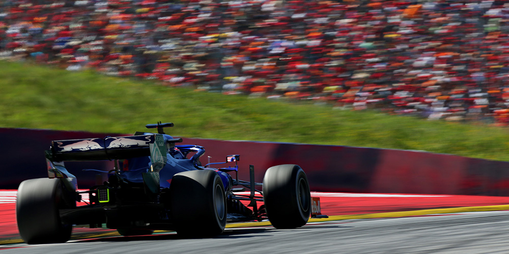 Austrian GP 2019 with Daniil Kvyat Scuderia Toro Rosso