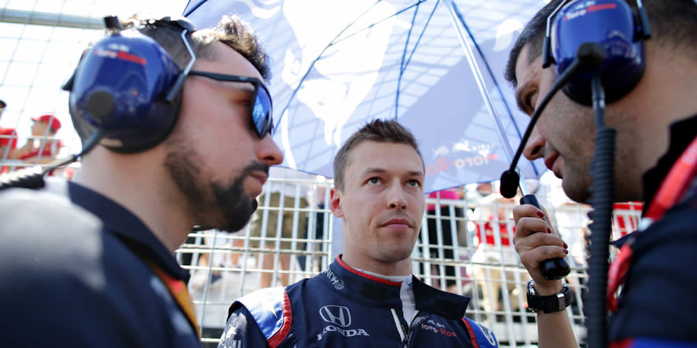 Canadian Grand Prix 2019 with Daniil Kvyat Scuderia Toro Rosso