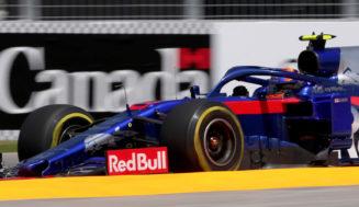 Canadian Grand Prix free practice by Scuderia Toro Rosso