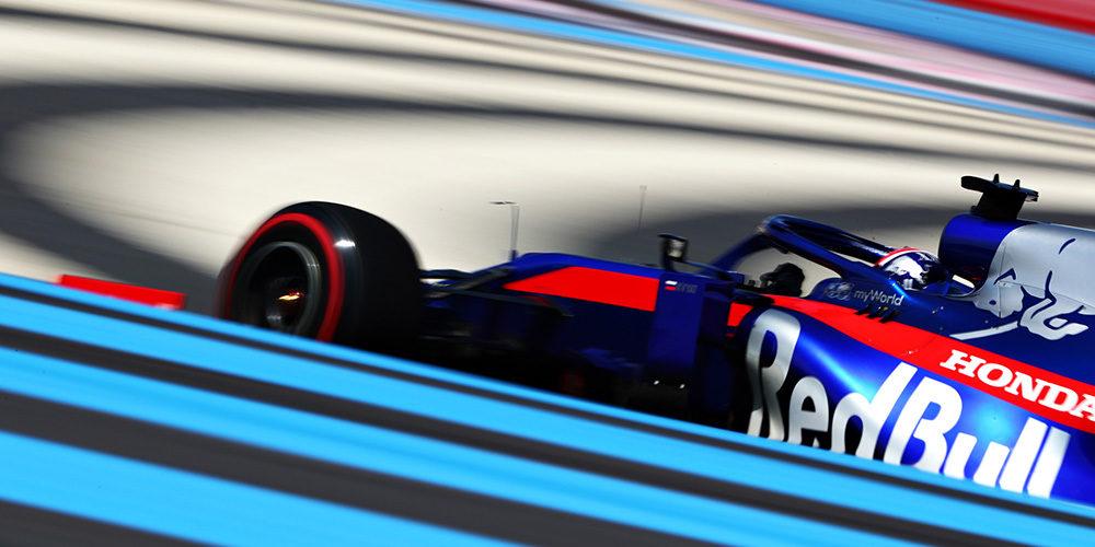 French GP free practice 2019 with Daniil Kvyat Scuderia Toro Rosso