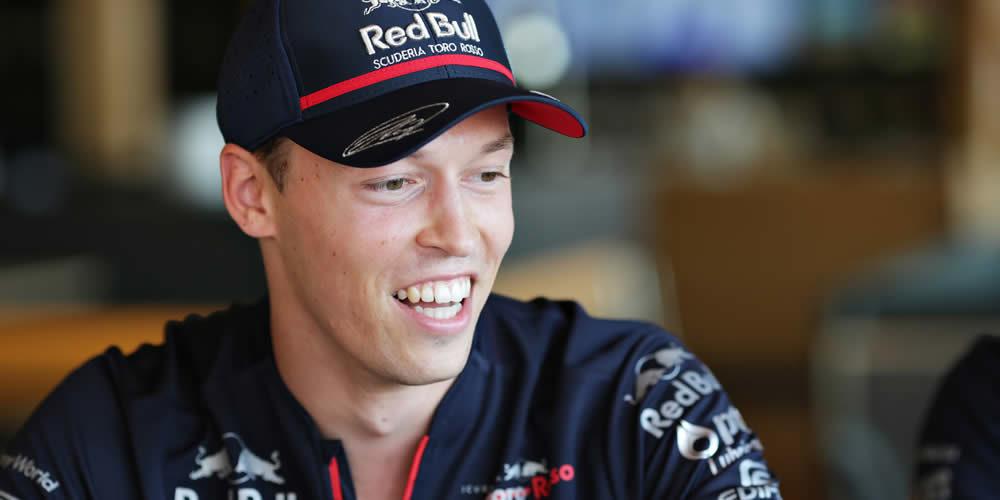 German Grand Prix free practice 2019 with Daniil Kvyat Scuderia Toro Rosso