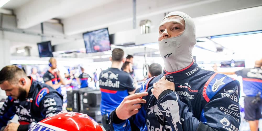 German Grand Prix qualifying 2019 with Daniil Kvyat Scuderia Toro Rosso