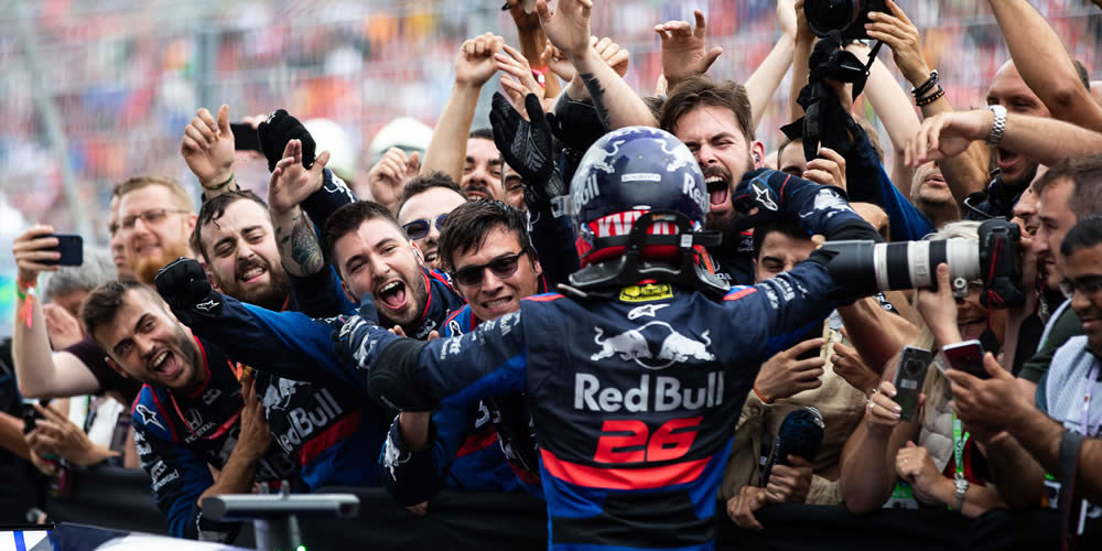 GP Germania 2019 con Daniil Kvyat Scuderia Toro Rosso