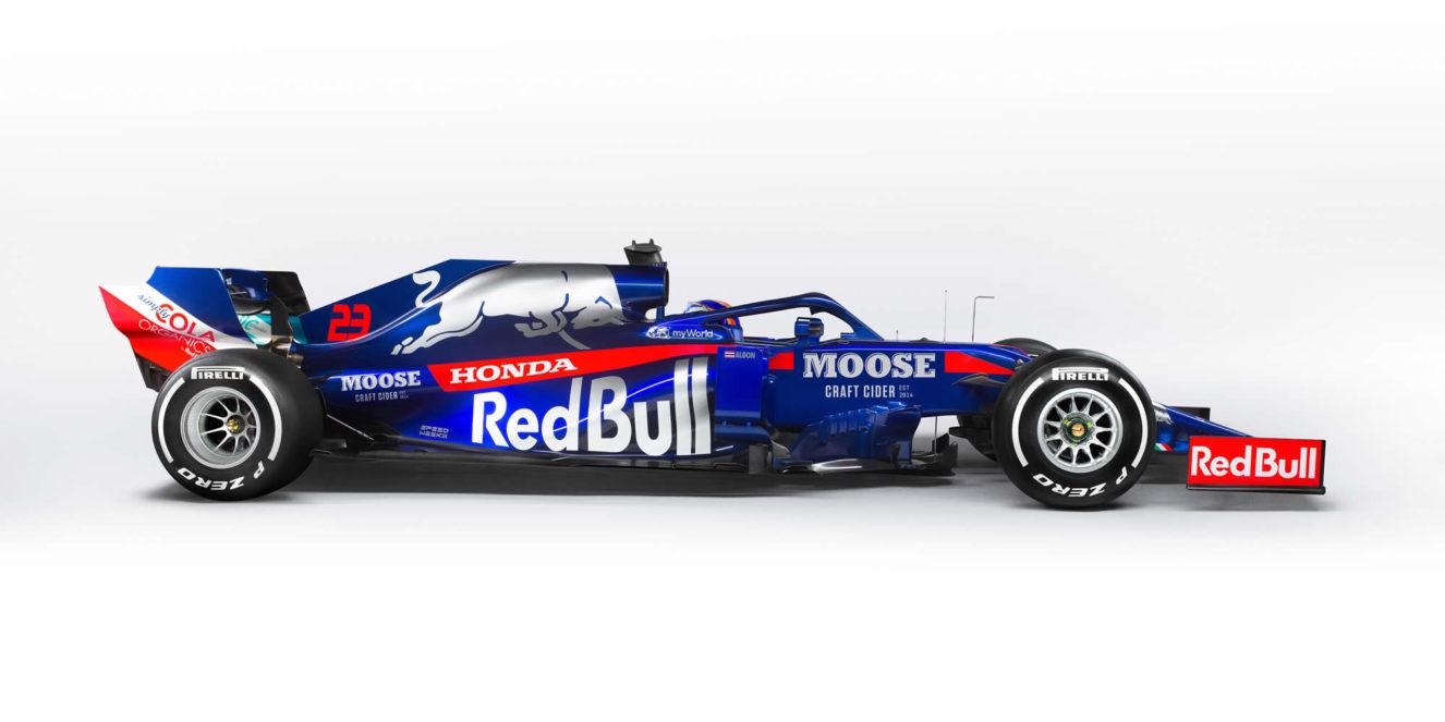 Moose sponsor 2019 Scuderia Toro Rosso