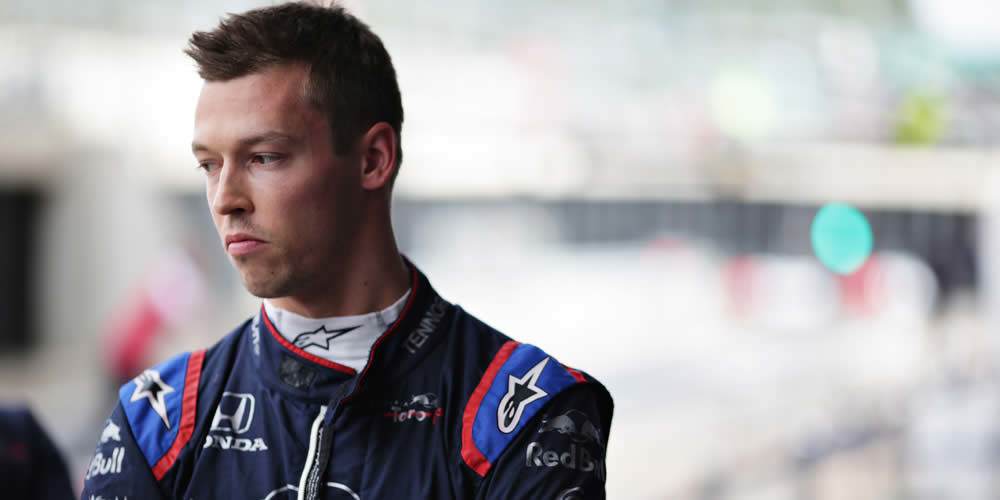 Qualifiche GP Inghilterra 2019 con Daniil Kvyat Scuderia Toro Rosso