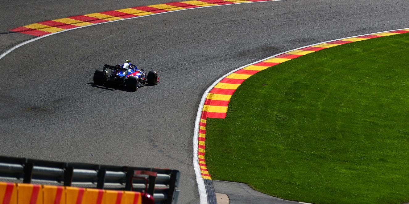 Belgium Grand Prix free practice 2019 by Scuderia Toro Rosso