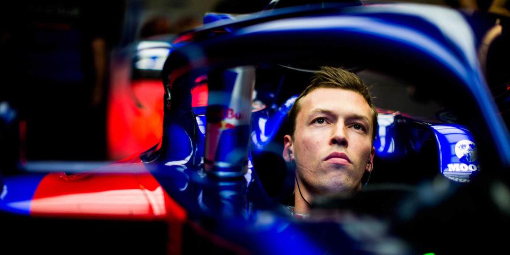 F1 Hungary qualifying 2019 with Daniil Kvyat Scuderia Toro Rosso