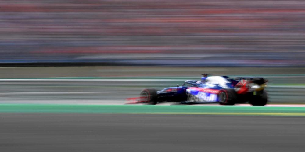 Hungarian Grand Prix qualifying 2019 with Daniil Kvyat Scuderia Toro Rosso