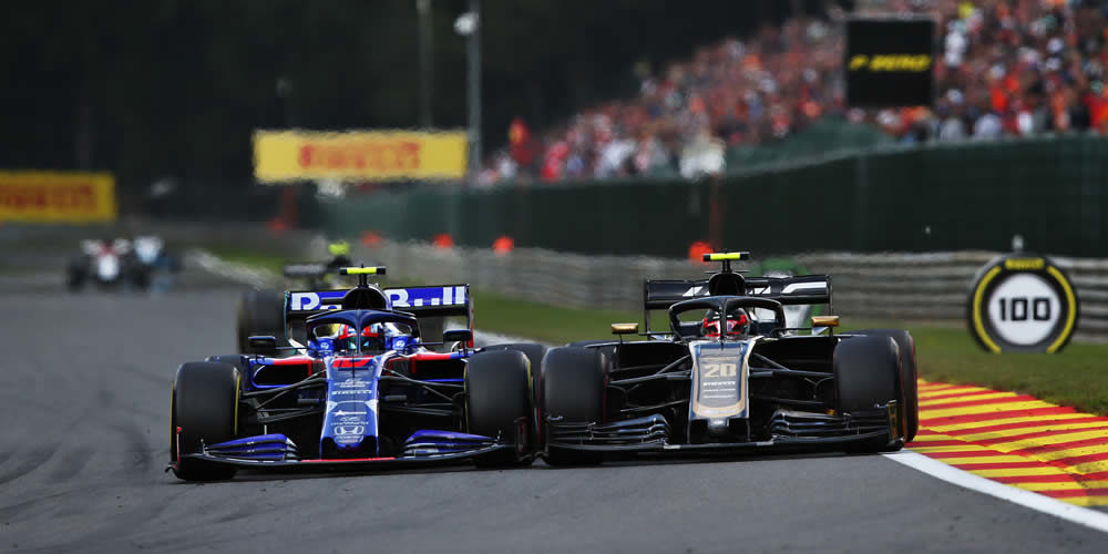 Belgian Grand Prix 2019 with Pierre Gasly Scuderia Toro Rosso