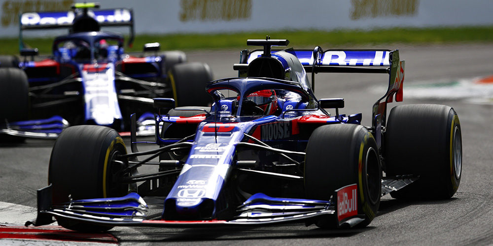 Italian Grand Prix 2019 with Daniil Kvyat Scuderia Toro Rosso