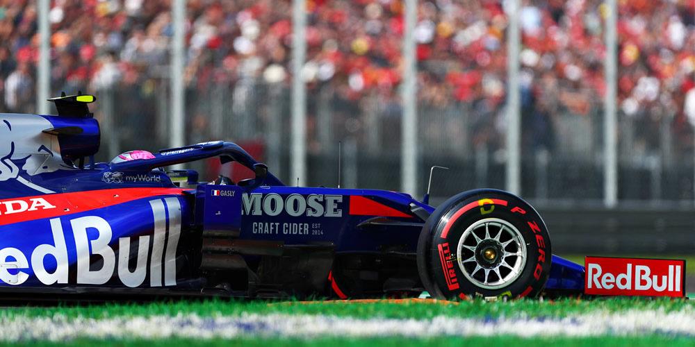 Italian Grand Prix qualifying 2019 with Pierre Gasly Scuderia Toro Rosso
