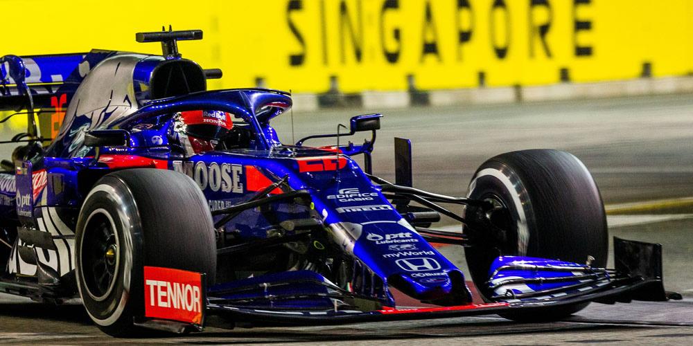 Qualifiche GP Singapore 2019 con Daniil Kvyat Scuderia Toro Rosso