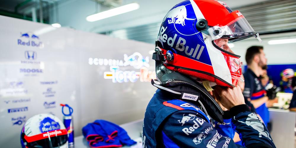 Russian Grand Prix free practice 2019 with Daniil Kvyat Scuderia Toro Rosso