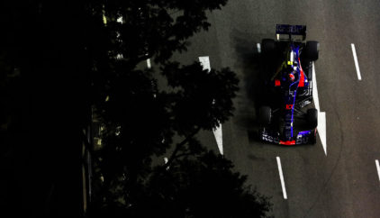Singapore GP free practice 2019 by Scuderia Toro Rosso