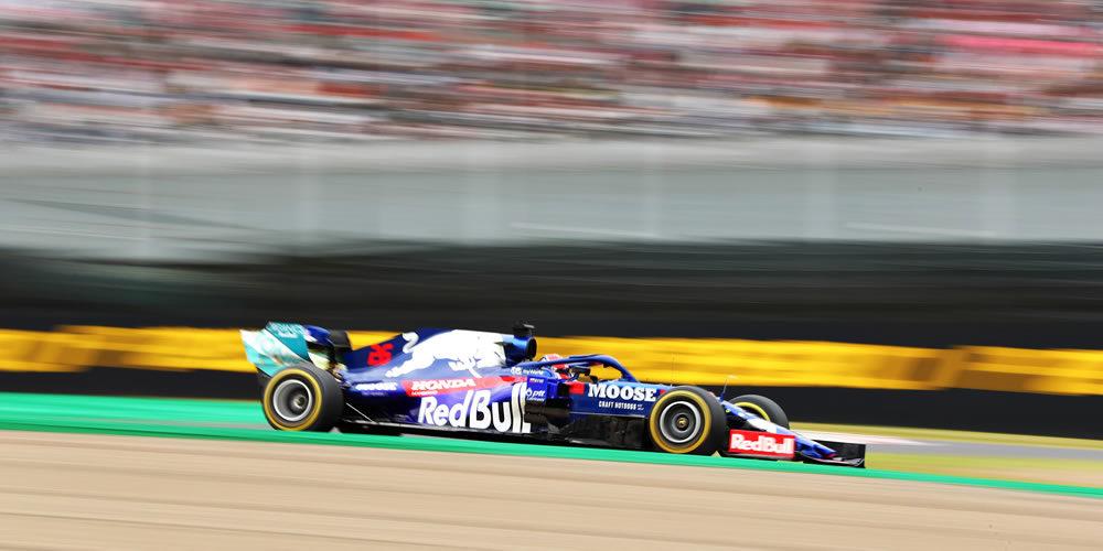 F1 japanese Grand Prix free practice 2019 with Daniil Kvyat Scuderia Toro Rosso