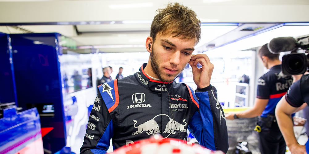 F1 Mexico free practice 2019 with Pierre Gasly Scuderia Toro Rosso