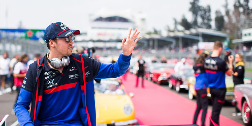 GP Messico 2019 con Daniil Kvyat Scuderia Toro Rosso