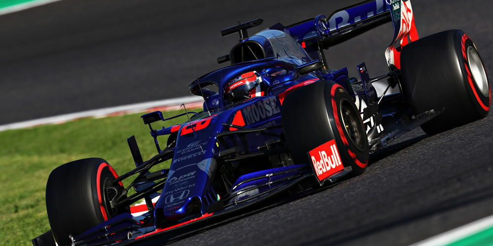 Japanese Grand Prix 2019 with Daniil Kvyat Scuderia Toro Rosso
