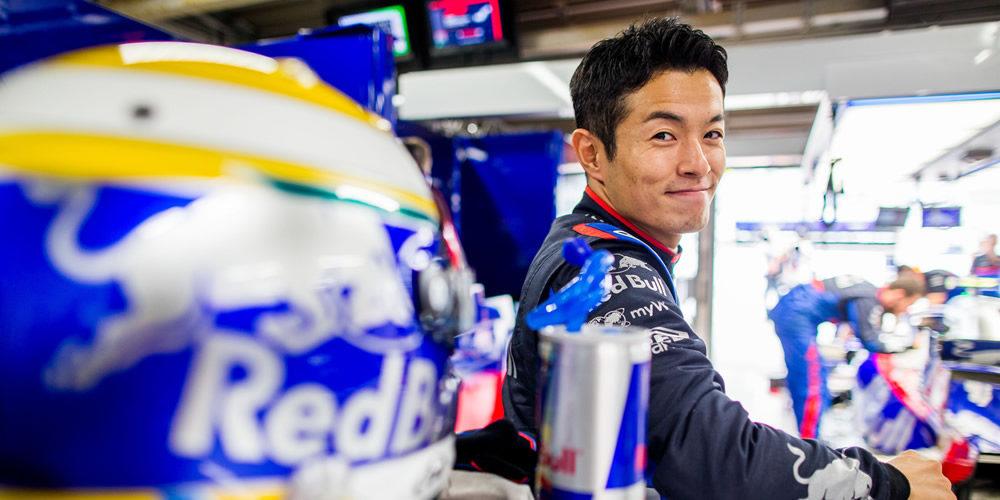 Japanese Grand Prix free practice 2019 with Naoki Yamamoto Scuderia Toro Rosso