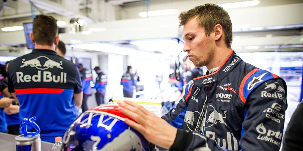 Mexican Grand Prix free practice 2019 with Daniil Kvyat Scuderia Toro Rosso