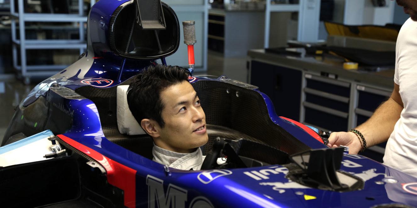 Naoki Yamamoto by Scuderia Toro Rosso