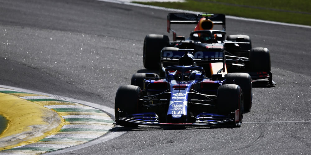 F1 Brasile 2019 con Daniil Kvyat Scuderia Toro Rosso