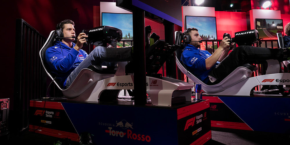 F1 Esport 2019 Evento 3 con Cem Bolukbasi e Patrik Holzmann Scuderia Toro Rosso