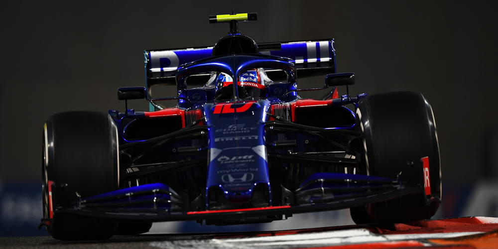 Abu Dhabi Grand Prix 2019 with Pierre Gasly Scuderia Toro Rosso