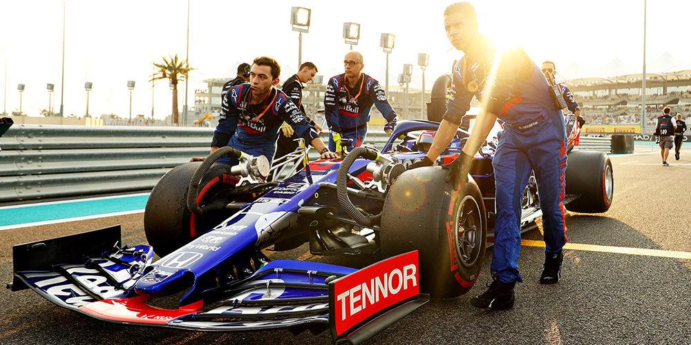 Review F1 Abu Dhabi 2019 by Scuderia Toro Rosso
