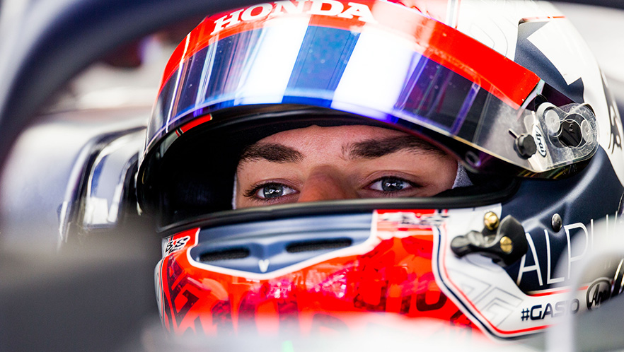 F1 winter testing 1 day3 with Pierre Gasly Scuderia AlphaTauri
