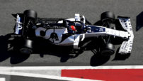 Kvyat sul circuito Barcelona-Catalunya