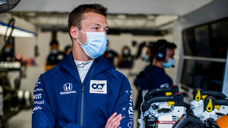 Hungarian Grand Prix qualifying 2020 with Daniil Kvyat by Scuderia AlphaTauri