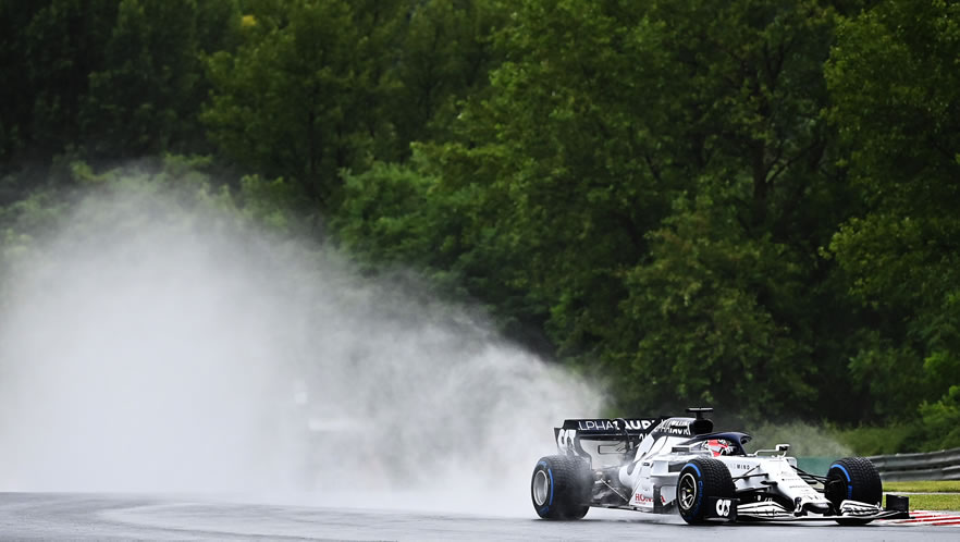 Prove libere Gran Prix Ungheria 2020 con Daniil Kvyat Scuderia AlphaTauri