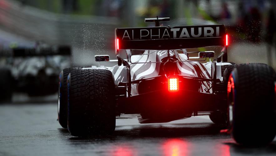 Styrian GP qualifying 2020 with Daniil Kvyat by Scuderia AlphaTauri