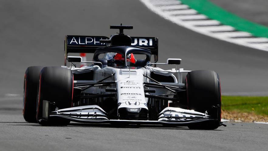British Grand Prix 2020 with Daniil Kvyat by Scuderia AlphaTauri