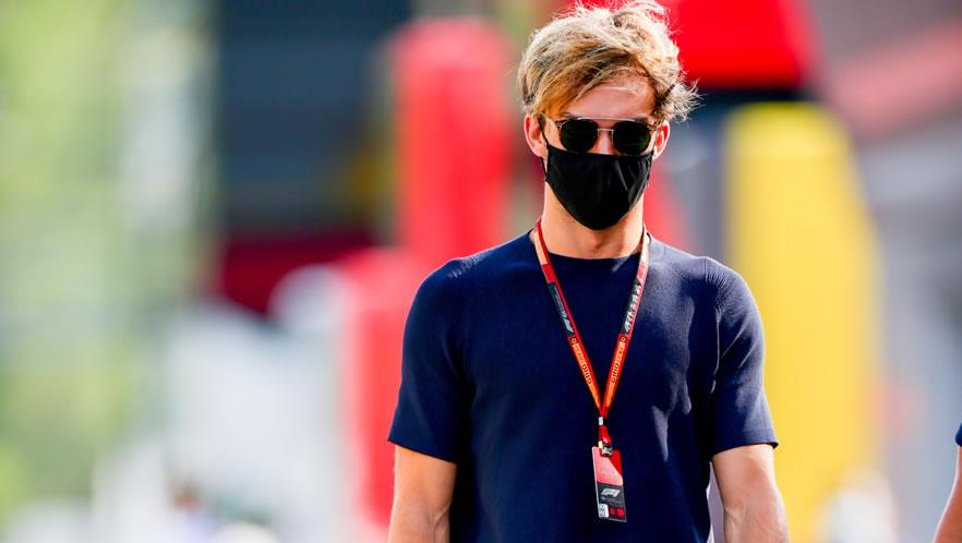 Spanish Grand Prix free practice 2020 with Pierre Gasly by Scuderia AlphaTauri