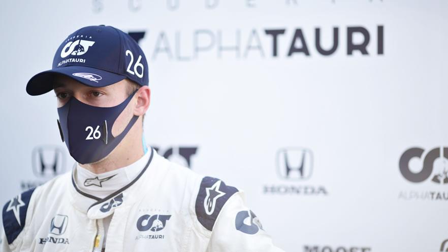 GP Toscana 2020 con Daniil Kvyat della Scuderia AlphaTauri