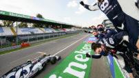 Pierre wins Monza